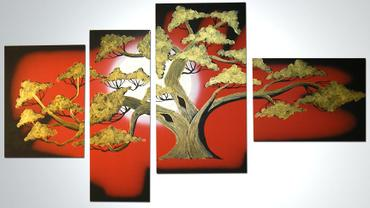BONSAI GOLD 2 - 120x70cm