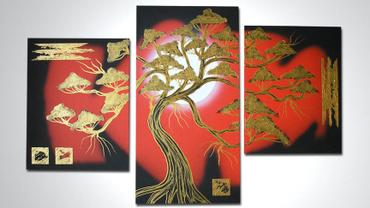 BONSAI 1 mały - 90x60